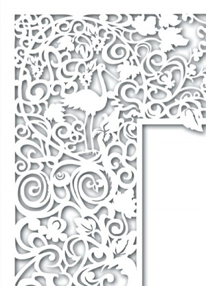 Adir Gallery – one of a series of papercut designs
