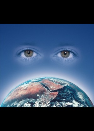 "Pfizer – Image depicting ""global vision"" for a newsletter"