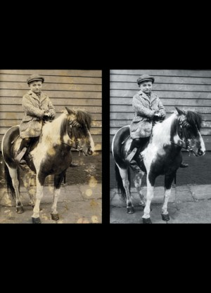 Photo Restoration – Before and After
