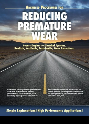 Reduce Premature Wear – A Book Cover